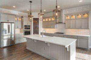 large white modern kitchen